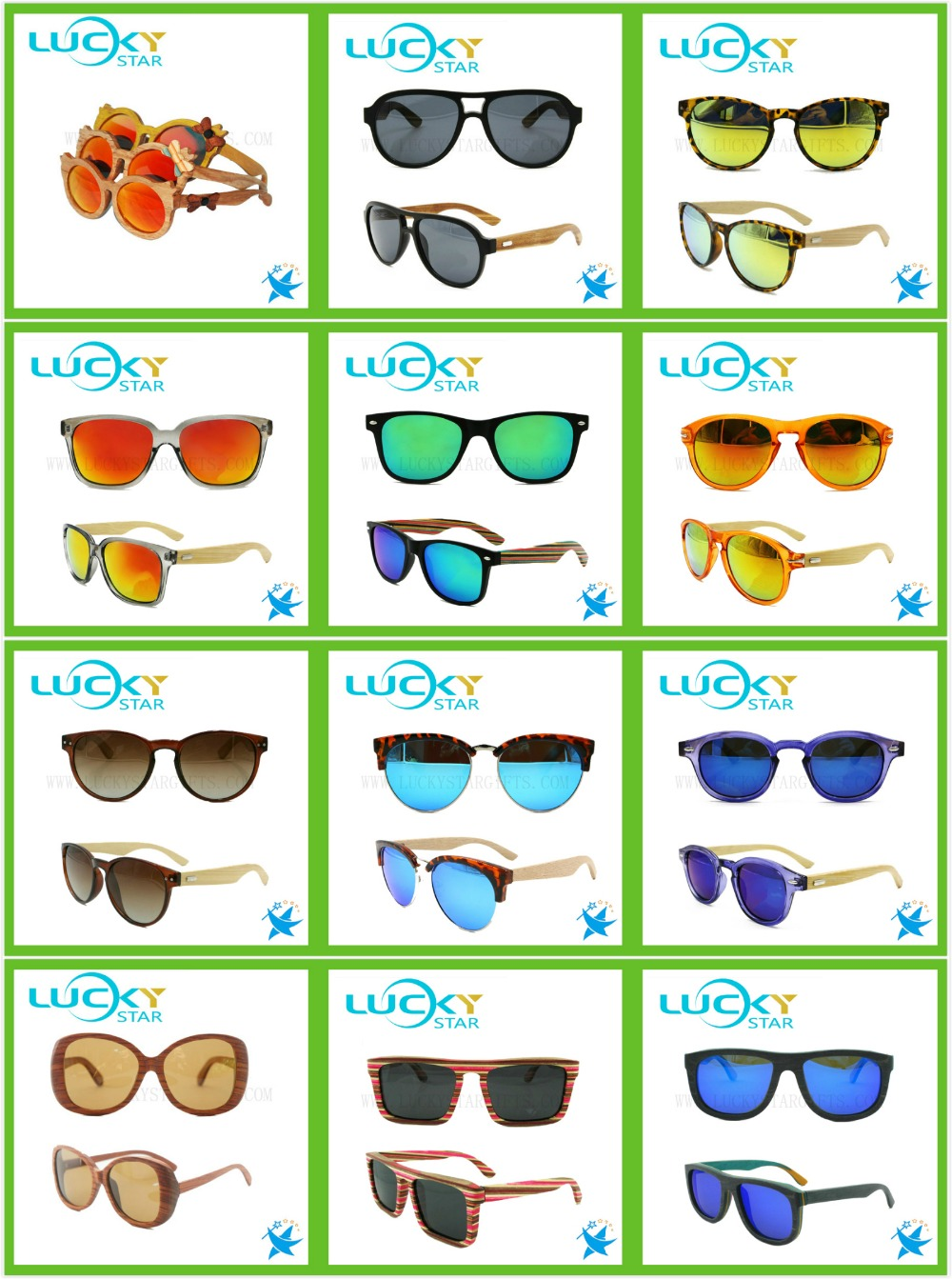 2017 Plastic Wood Sunglasses Custom Logo Good Unisex Sun Glasses ...