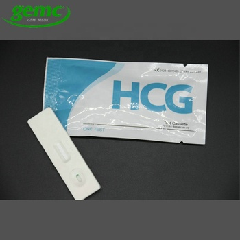 HCG pregnancy test kit/urine pregnancy test strip cassette