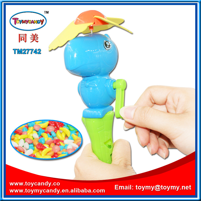 Easy Operated Kids Fan Handheld Battery Operated Fan Target Candy ...