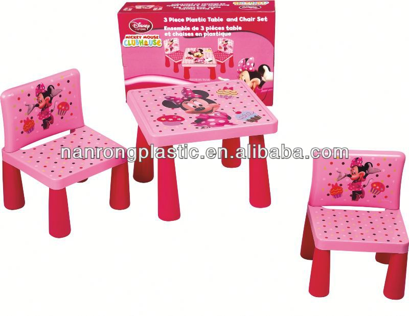 2013 New style wholesale high quality plastic children table and chair evenflo baby high chair
