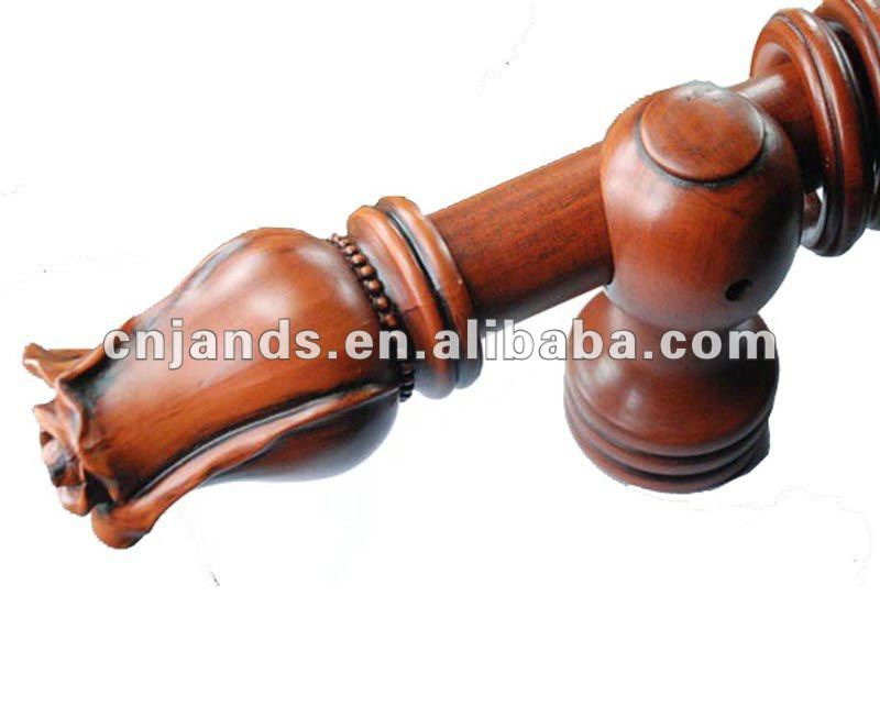 A-0045 2015 Hot Sell Wood Curtain Rod