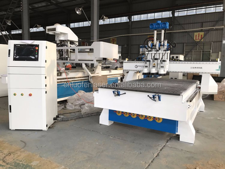 philicam cnc milling machine kitchen cabinet doors Wood CNC Router 1325 wood cutting machine