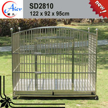 stainless steel pet cage 5ft dog kennel cage