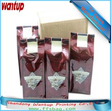 Customized Printing tear proof ags plastic bag with elastic