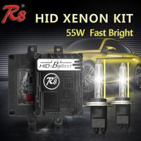 2017 R8 Factory New Arrival 55W Quick Start Fast Bright Xenon HID Kits R8 Ballast H1 H7 H11 9005 880 High Lumen Xenon Light