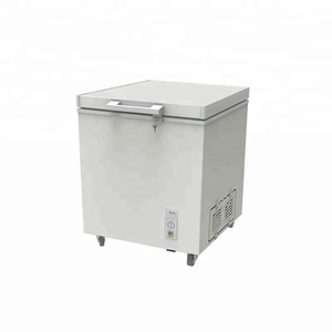 108L commercial mini small chest freezer for ice