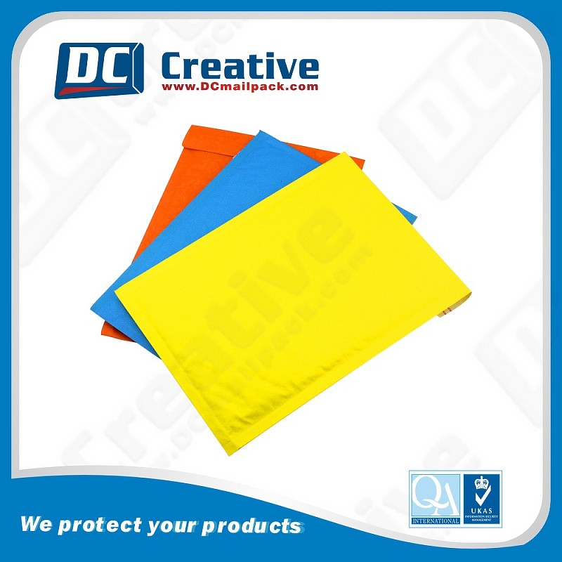 Made Usa Wholesale Products White Kraft Colored Poly Bubble Mailers