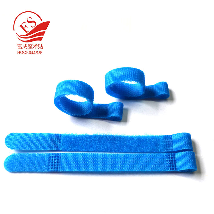High quality double side cable tie hook and loop magic tie