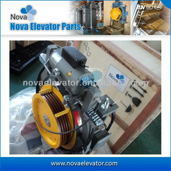 Elevator permanent magnet synchronous gearless traction machine for elevator