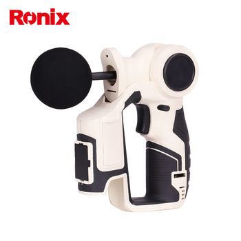 Ronix 12V Lithium Cordless Massage Gun without Noisy in stock