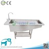 YSVET4101 stainless steel fast delivery veterinary clinic dog bathtub