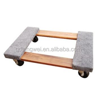 four wheel furniture dollies carpet dolly