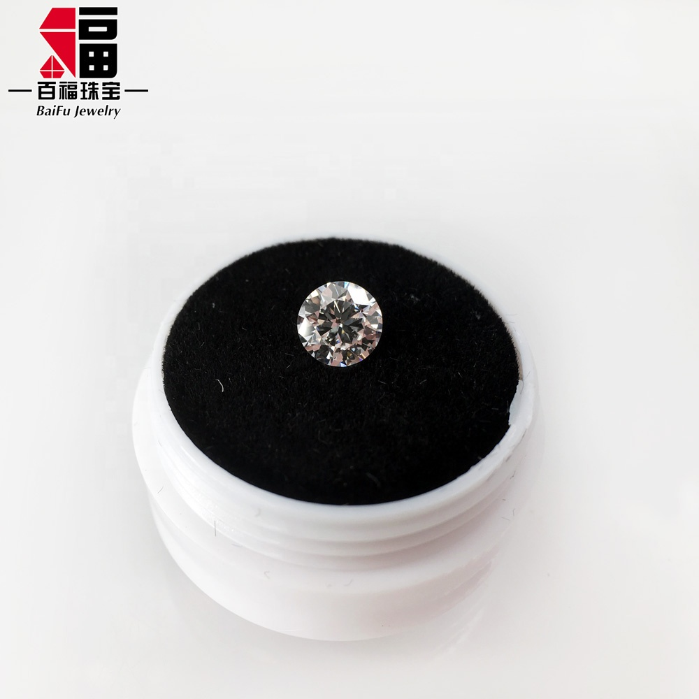 1 carat BLACK Brilliant Cut ROUND POLISHED DIAMONDS