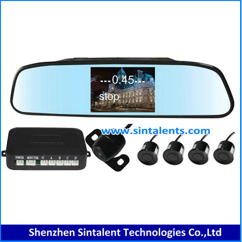 Car Reverse camera system with 7inch LCD Quad Monitor for Bus Truck Trailer Van