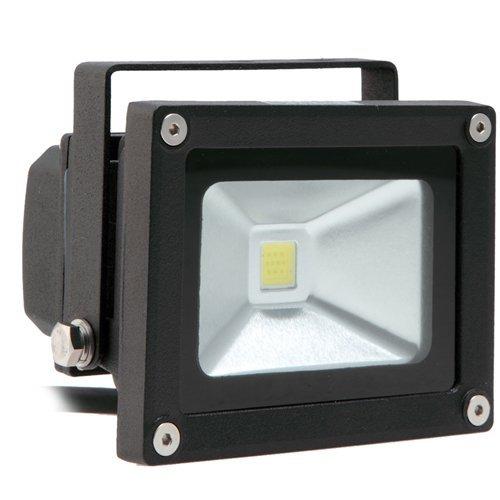 10W Outdoor LED Flood Light, Security Light, 100W Halogen