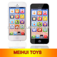 Novelty early education English simulation learning mobile phone toys,early education mobile phone toys