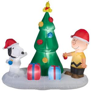 Snoopy Christmas Inflatable Snoopy Christmas Inflatable
