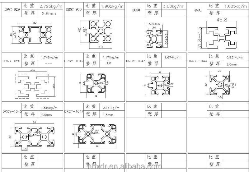 Oem Accept ! Production Line Aluminium Profile 40x40 - Buy Production Line  40x40,Production Line Aluminium,Production Line Aluminium Profile 40x40