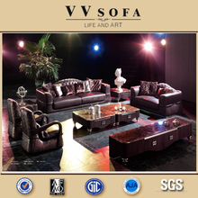 Kangbao vv sofa 100% Italy import top grain leather luxury furniture sofa ,Foshan sofa furniture factory