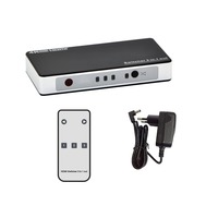 4K x 2K 4 Port High-Speed HDMI Switch with IR Wireless Remote Control