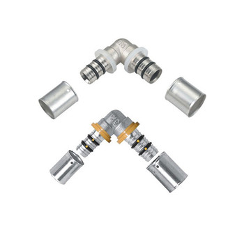 pex manufacturer male brass press elbow fittings for pex al pex pipe