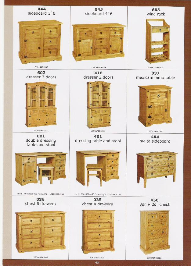 Muebles en madera de pino otros muebles de madera - Muebles madera de pino ...