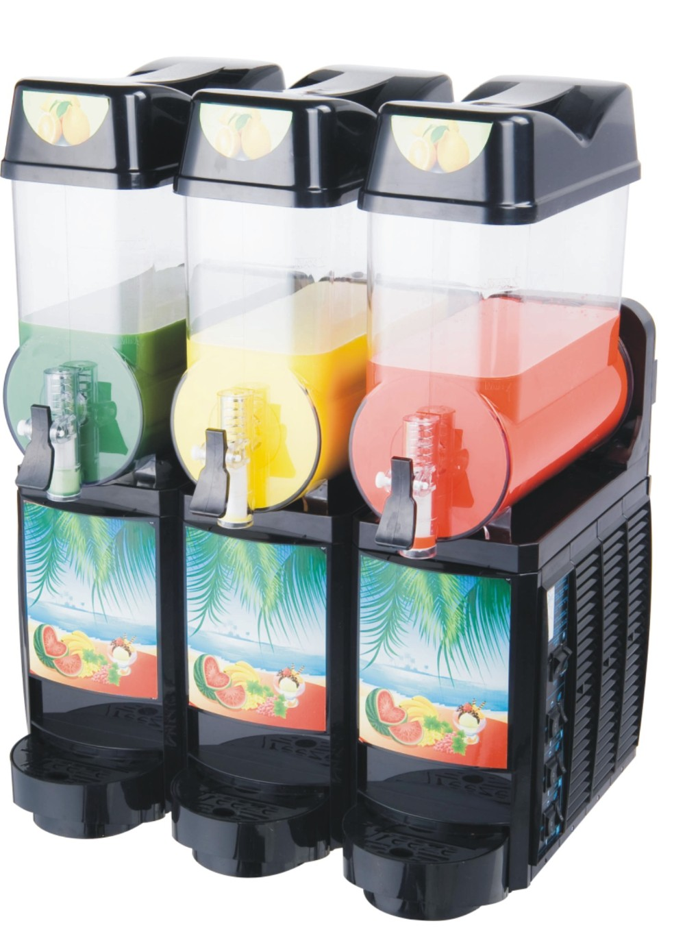 3X15L commercial slush machine for sale