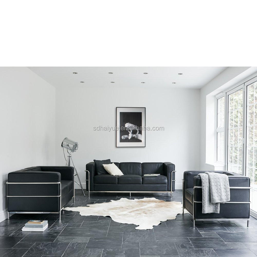 le corbusier lc3 sofa le corbusier style lc3 sofa eternity. Black Bedroom Furniture Sets. Home Design Ideas
