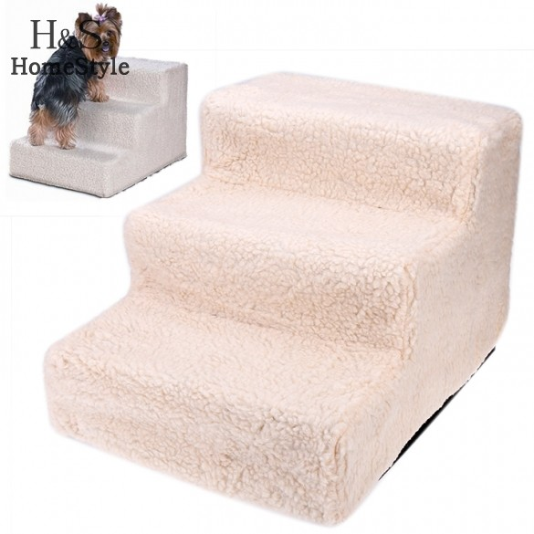 Superieur Get Quotations · Removable Cover Pet Dog Bed For Sleeping Three Layer  Training Dog Steps Paw Ladder Stairs For