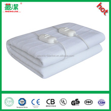 Oversized Plush Throw Battery Polyester Electric Heated Blanket