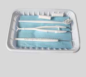 Dental supply dental instrument set/disposable dental kit (3,5,6,7items/set)