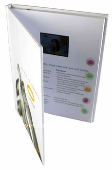 Custom Lcd Video Brochure Greeting Card Cardbusiness card
