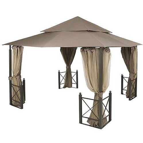 Get Quotations · H&ton Bay Replacement Canopy for 12 Ft. X 12 Ft. Harbor Gazebo  sc 1 st  Alibaba & Cheap 12x12 Gazebo Replacement Canopy find 12x12 Gazebo ...