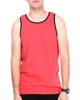 6873852ef46e1 Wholesale Plain Loose Tank Top For Men Red - Buy T-back Singlet ...