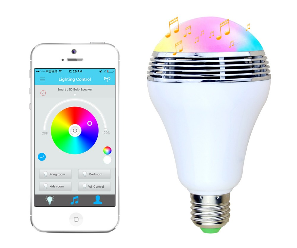 16 million colors rgb led smart light for sign 9w remote control rgb led bulb <strong>e27</strong>