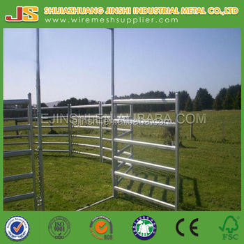 High quality Heavy duty used livestock fence panels
