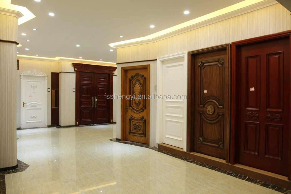 Wood Door Design Mdf Interior Door In White Color