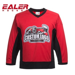 Wholesale cheap custom sublimated hockey jerseys designed by personal idea