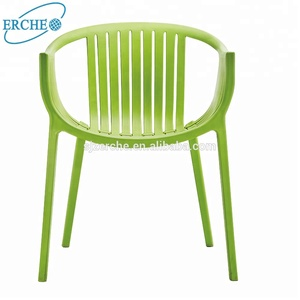 Top quality outdoor stackable plastic string chair