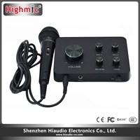 Km-3w 2016 Factory Sale Professional Karaoke Mixer Echo Subwoofer ...