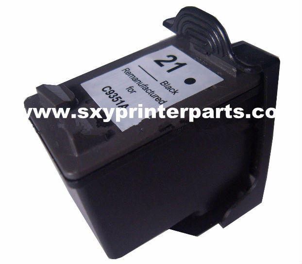 Compatible ink cartridge for HP21 Model no. C9351AE 19ml