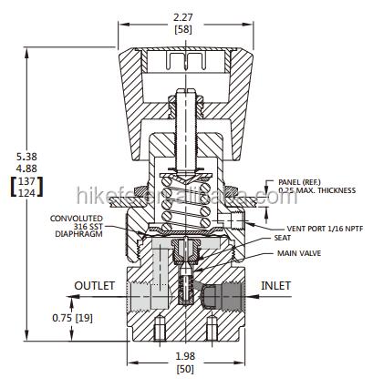 Pressure Reducing Regulator Lpg Cng Low Pressure Gas Regulator