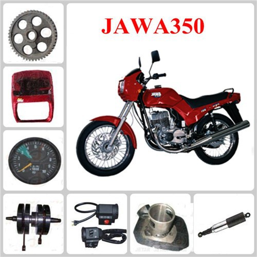 JAWA 350 motorcycle spare part Engine Gasket & Cylinder Body & Type & Tube & Cable