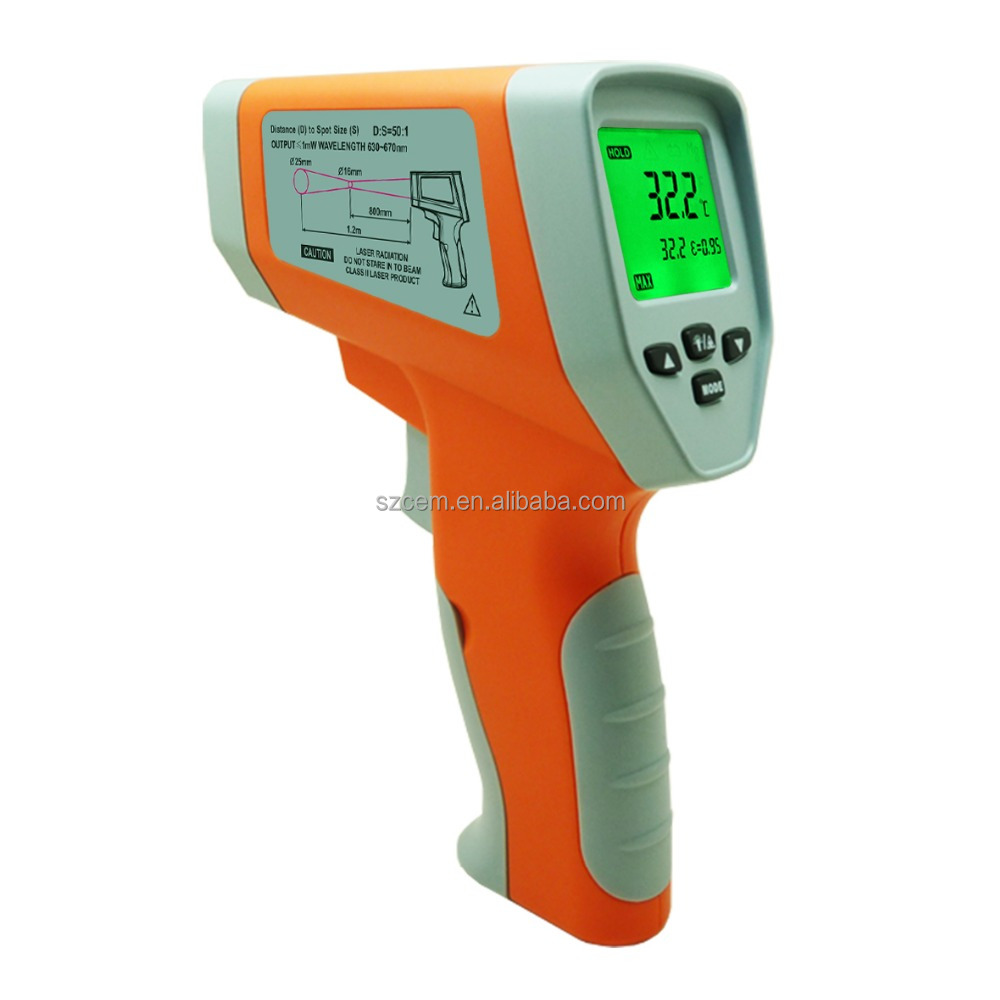 750 celsius degree DT750 IR dural laser non contact 2 laster digital industrial infrared thermometer new temperature tester