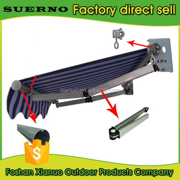 Outdoor Retractable Used Aluminum Awnings Parts For Sale ...