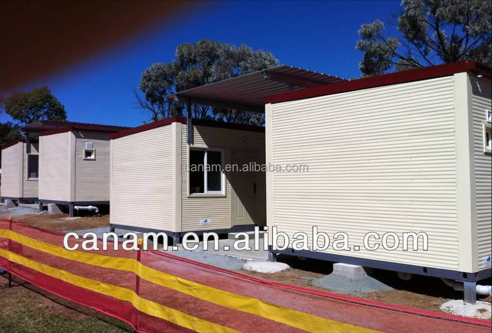 CANAM-Prefab Modular low cost container bungalow design