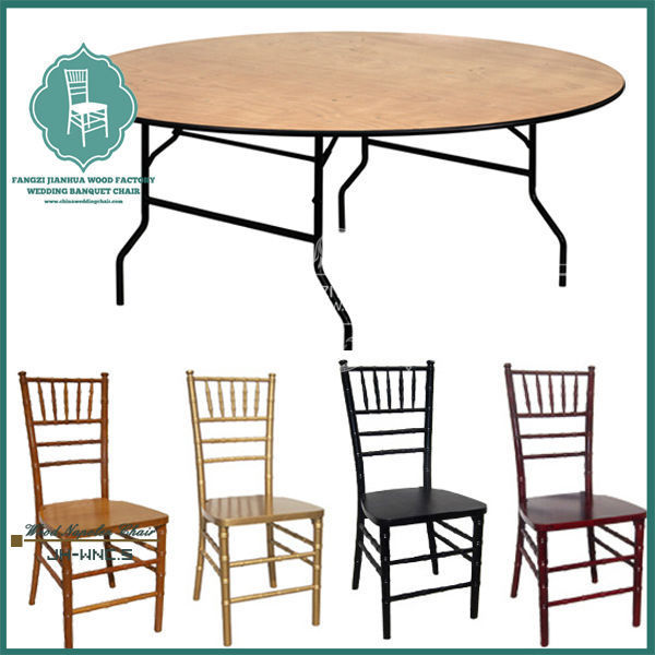 Lightweight Round Folding Dining Room Table