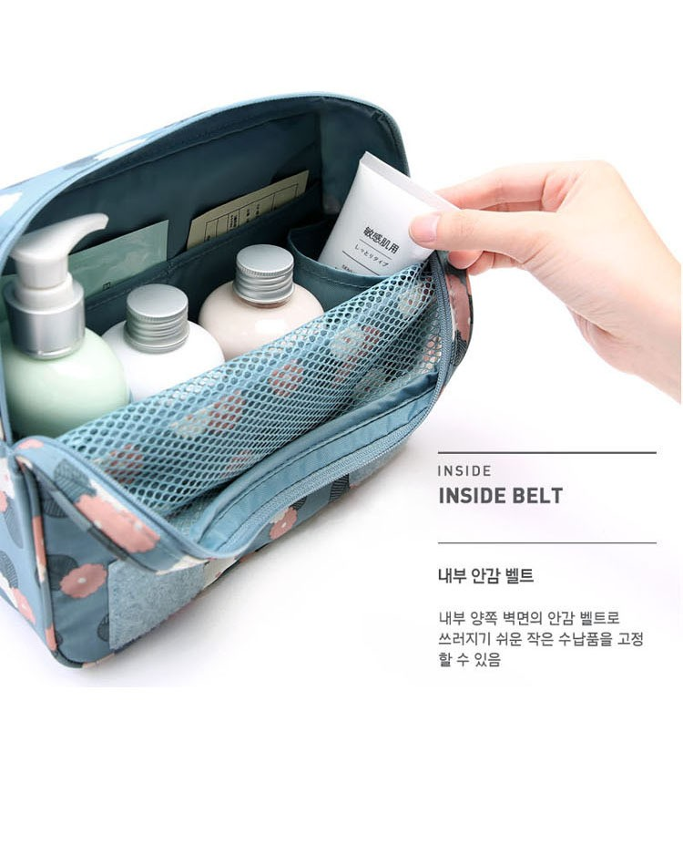 Hanging Foldable Travel Cosmetic Wash Bag Organizer Toiletry bag