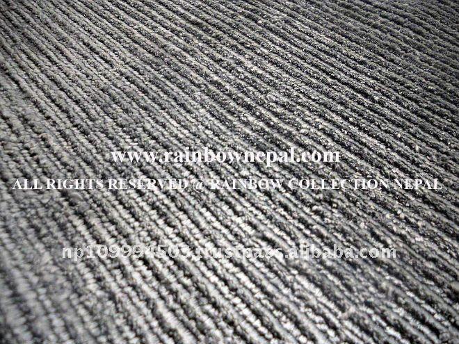 Custom Hand Knotted Bamboo Silk Rug