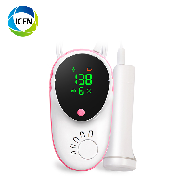 IN-C043 Portable Home Use Baby Fetal Heartbeat Monitor Pocket Fetal Doppler